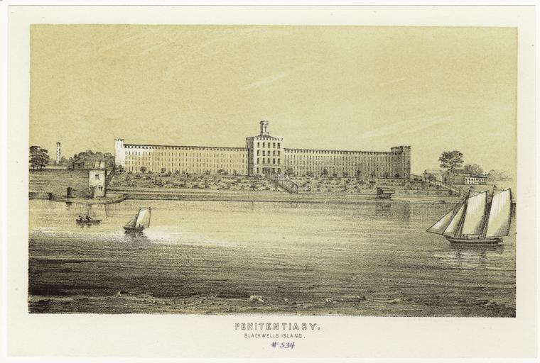 The Penitentiary on Blackwell's Island