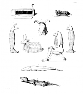 Image from A History of Egyptian Mummies By Thomas Joseph Pettigrew