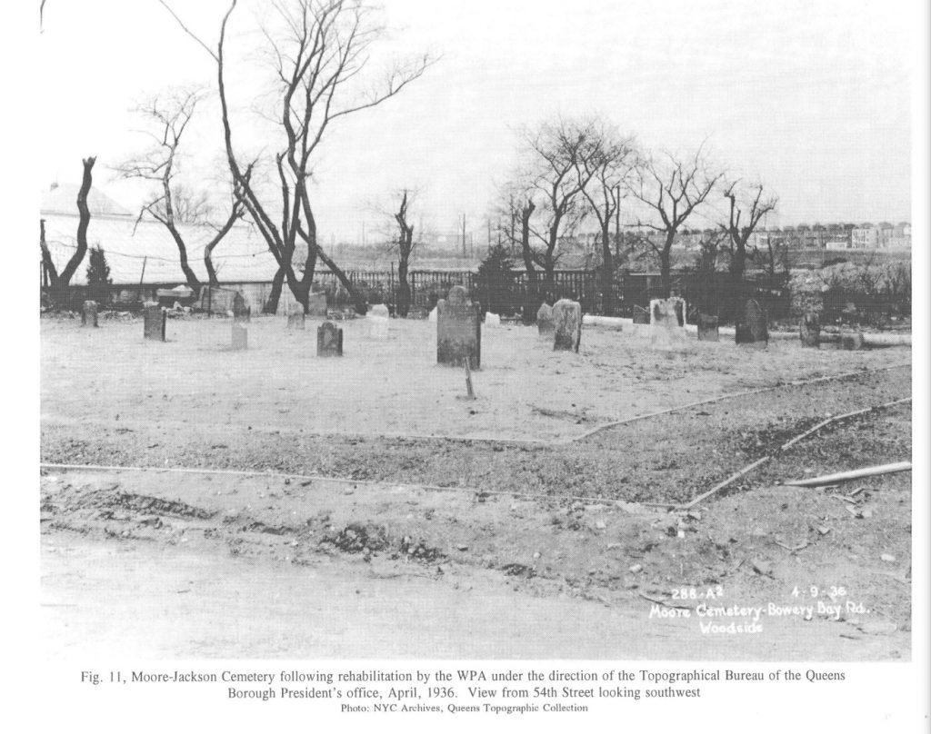 From the March 18, 1997, Landmark Preservation Commission report on Moore-Jackson Cemetery